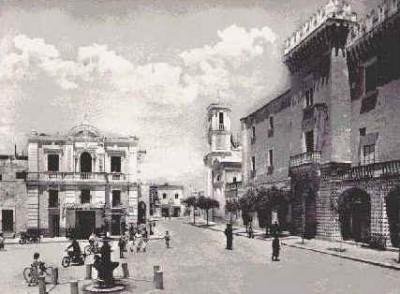 Piazza Vittorio Emanuele primi '900